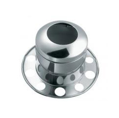 RM_Top_Hat_2pc_Stainless_With_Hole